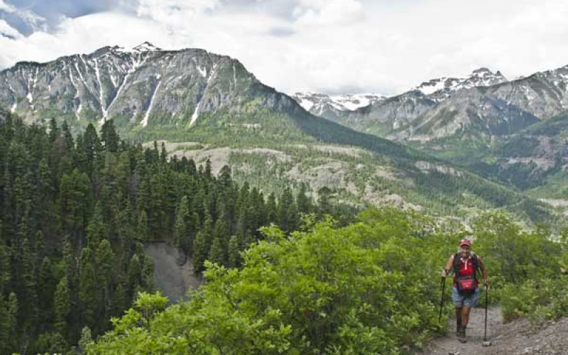 Hiking Ouray, Silverton & Lake City
