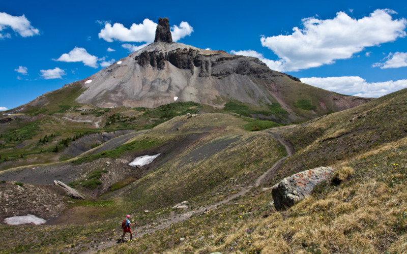 Hiking Biking Adventures-Hiking Cross Mountain Trail: Lizard Head Wilderness Telluride, Colorado