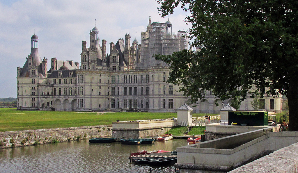 Beaugency-Blois-France-Chateau Chambord