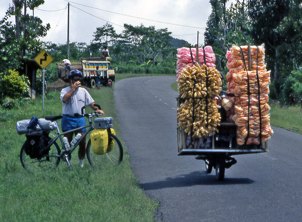 Bicycling Bali-Indonesia bicycle transportation