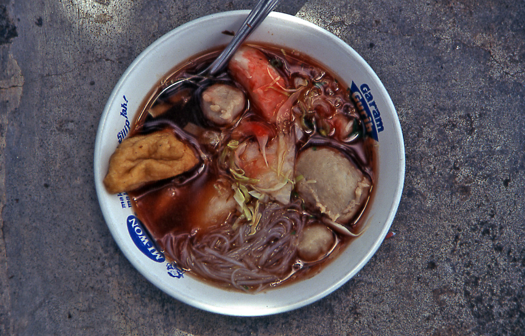 Bicycling Bali- Indonesia Bakso