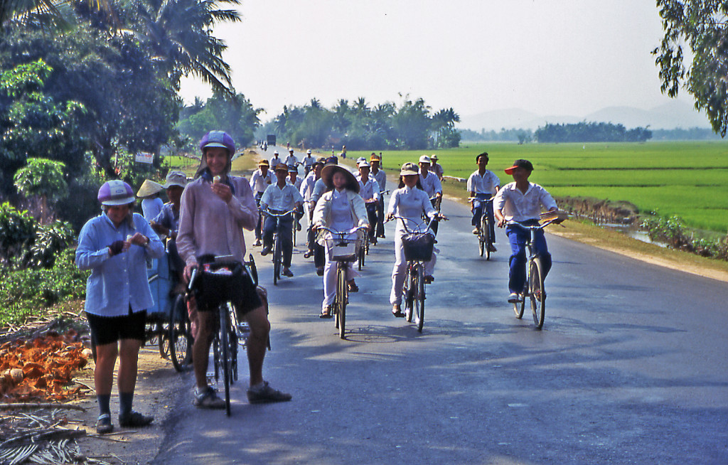 Anne & Mike Poe bicycle Vietnam