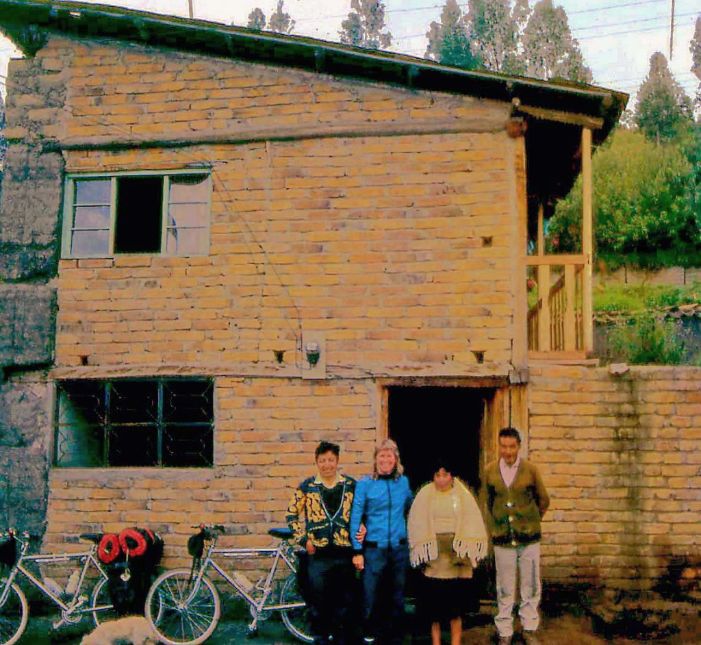 Juan's brick & mortar house in Ecuador