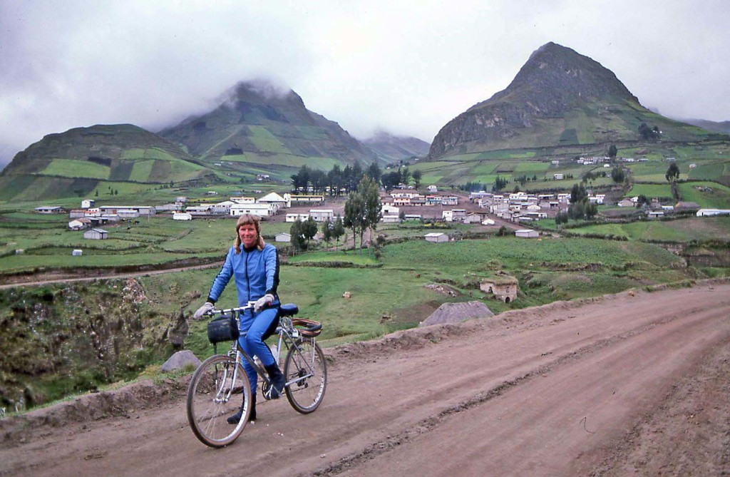 Bicycling Ecuador