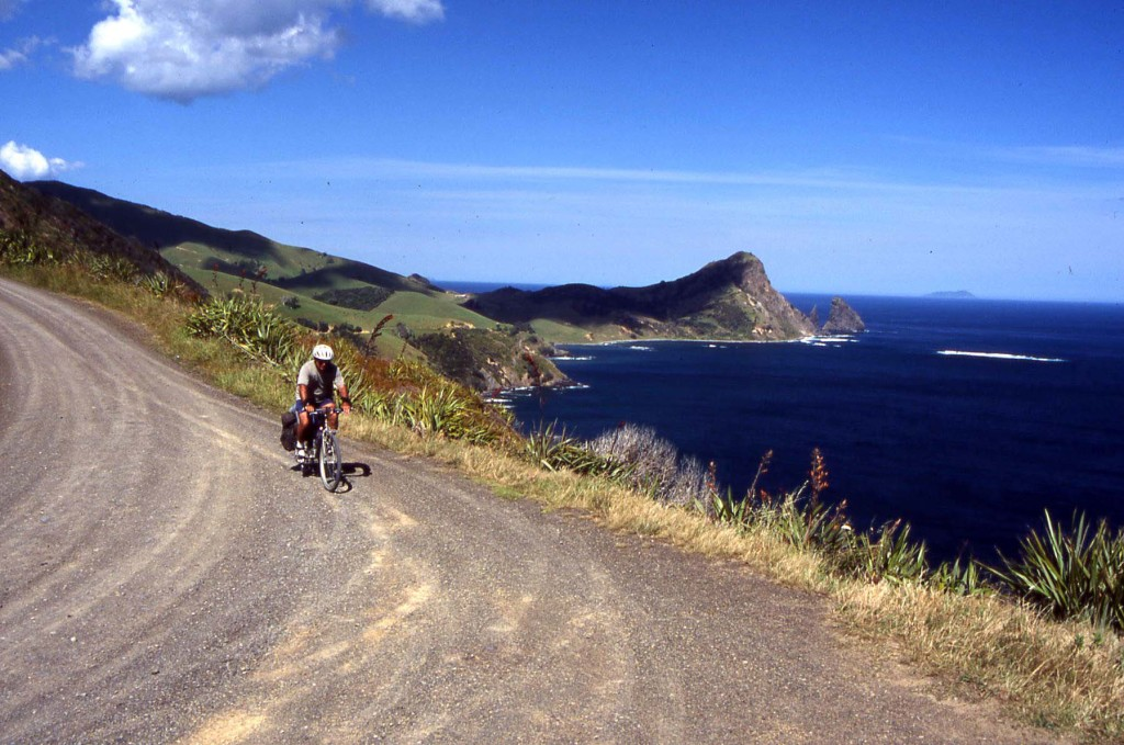 Bicycling New Zealand-Coromandel Peninsula