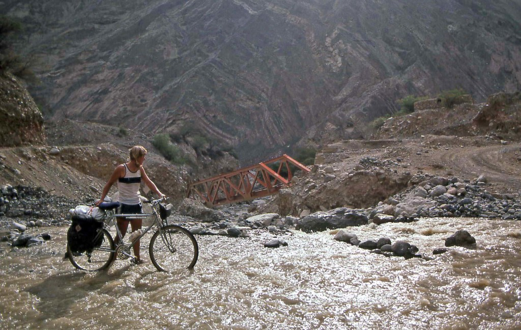 Bicycling Peru
