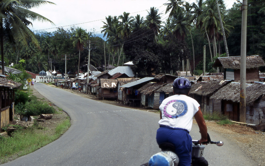 Bicycling Sumatra Indonesia
