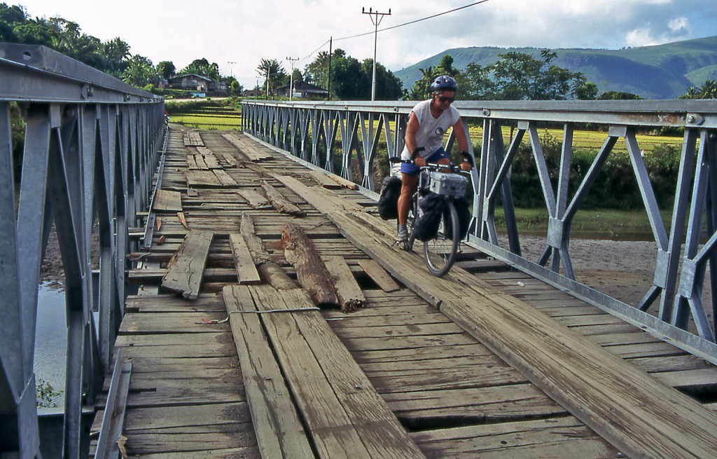 Bicycling Sumatra