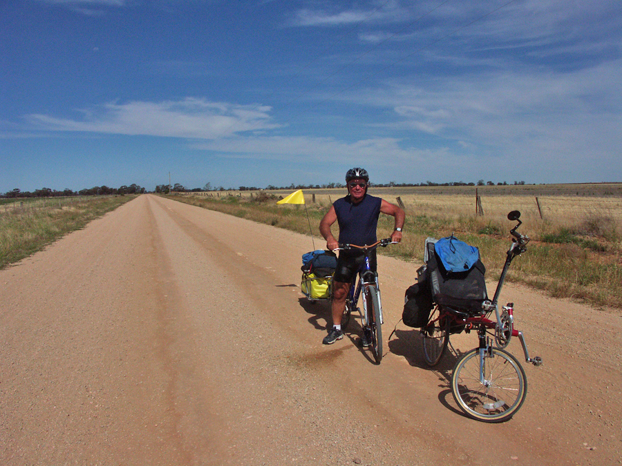Bicycling Southern Australia