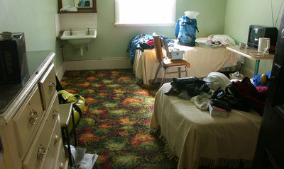 Bicycling Southern Australia-Typical room