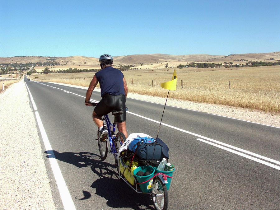 Bicycling Southern Australia-the roads