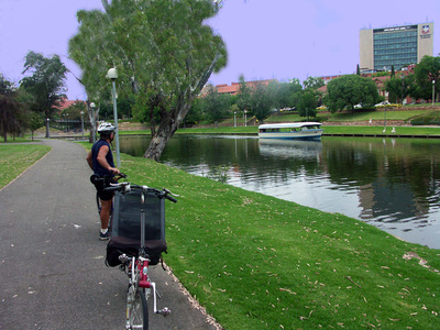 Bicycling Southern Australia-Adelaide