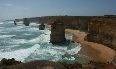 Bicycling Southern Australia-Great Ocean Road