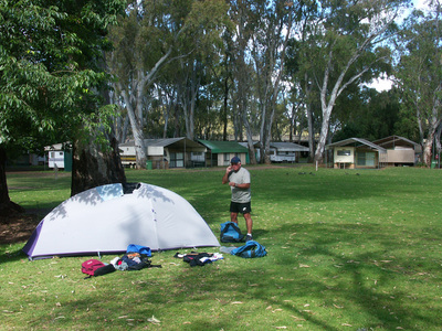 Bicycling Southern Australia-camping places