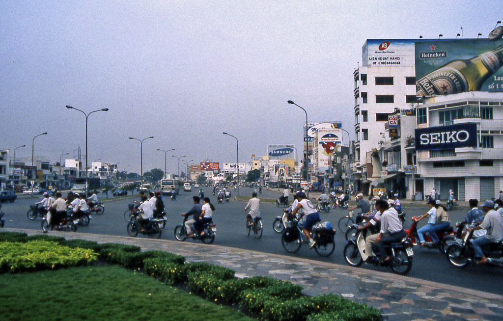 Bicycling Vietnam More bicycles than cars