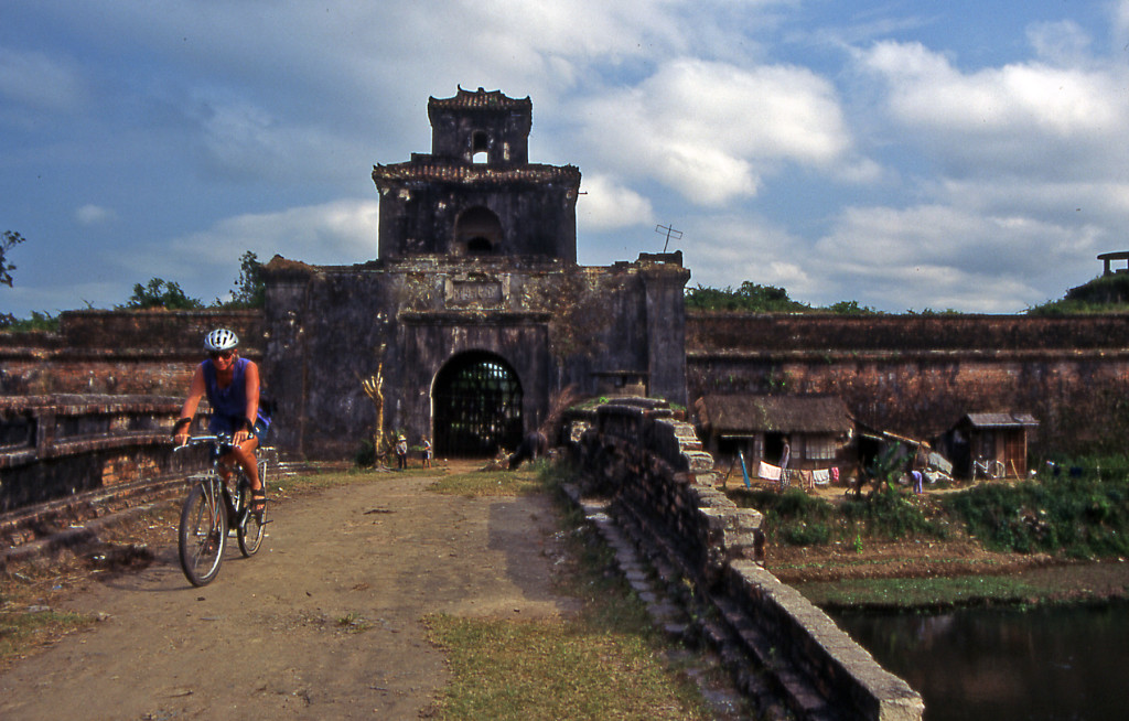 Bicycling Vietnam Historic city of Hue