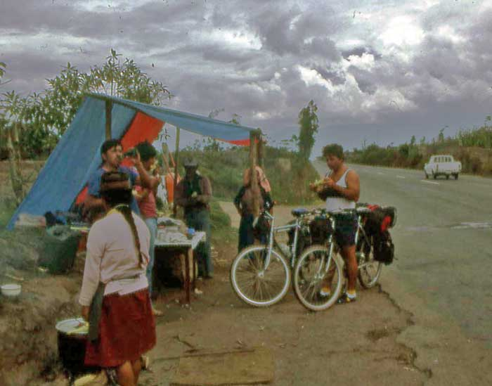 Bicycling Colombia