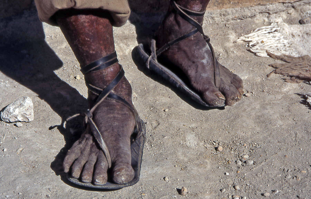 Hiking Copper Canyon-Mexico-Tarahumara feet & sandals!