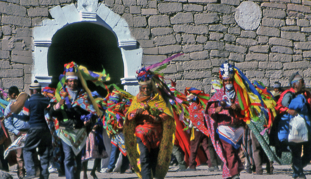 Tarahumara Virgin of Guadalupe festival