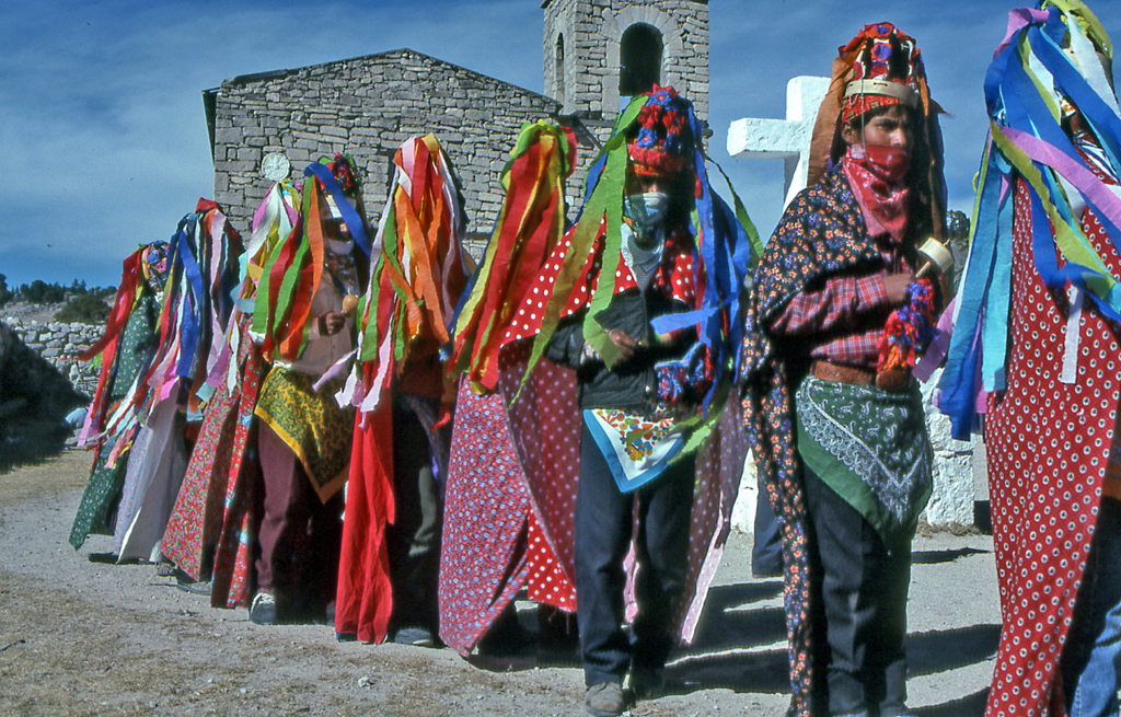 Hiking Copper Canyon-Tarahumara Virgin of Guadalupe celebration