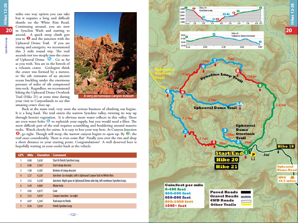 Arches Canyonlands National Parks Day Hikes takeahikeguidebookscom