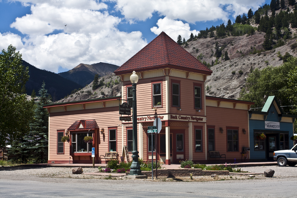 Hiking Ouray-Silverton-Lake City-Back Country Navigator-Lake City Colorado