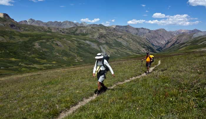Hiking Ouray, Silverton & Lake City Colorado-Colorado Trail