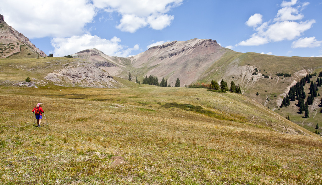 Hiking Ouray, Silverton & Lake City-High Country Traverse Trail