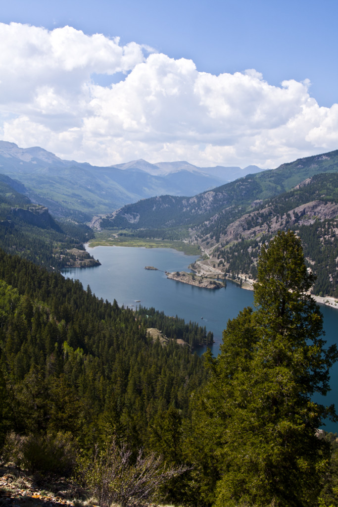 Hiking Ouray-Silverton-Lake City-San Cristobal Lake-Lake City Colorado