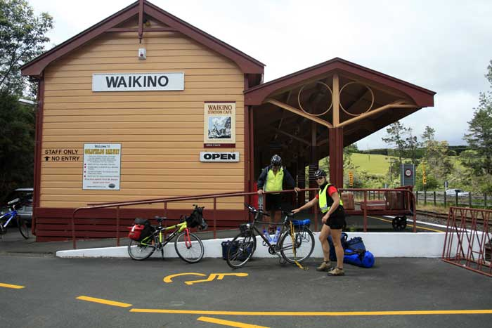 Bicycling North Island New Zealand-Coromandel Peninsula-Rails for Trails museum