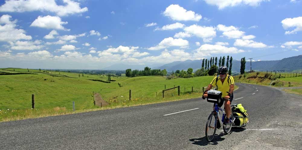 Bicycling North Island New Zealand-Route 3 Te Aroha to Opotiki