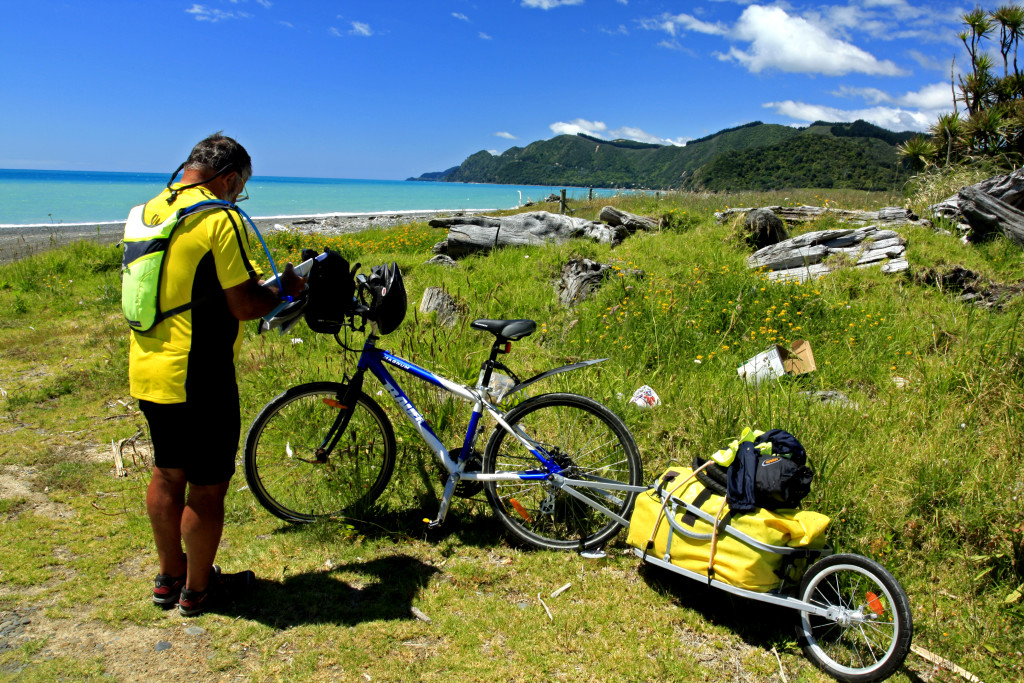 Bicycling North Island New Zealand-East Cape