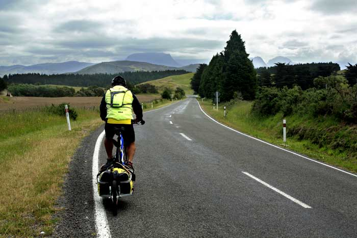 Bicycling North Island New Zealand-On route to Ruatoria