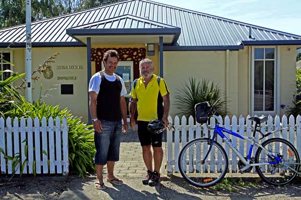 Bicycling North Island New Zealand-Police station Ruatoria