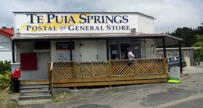 Bicycling North Island New Zealand-Te Puia Springs