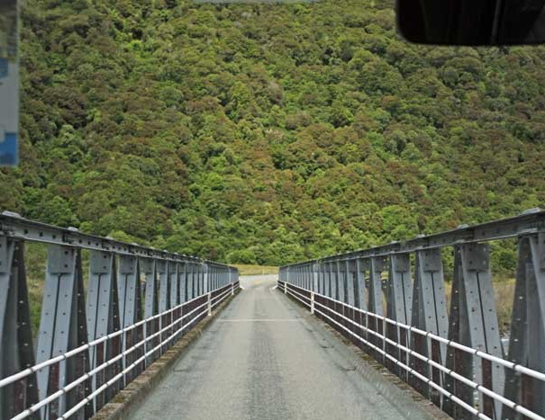 Bicycling South Island New Zealand-Arthur's Pass Route