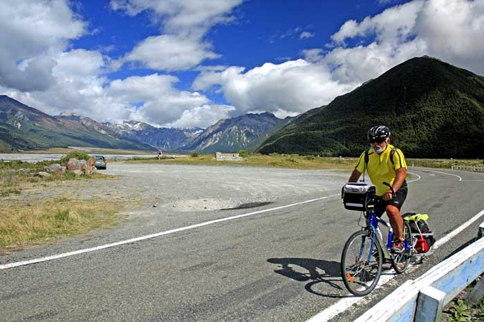 Bicycling New Zealand South Island Arthur's Pass