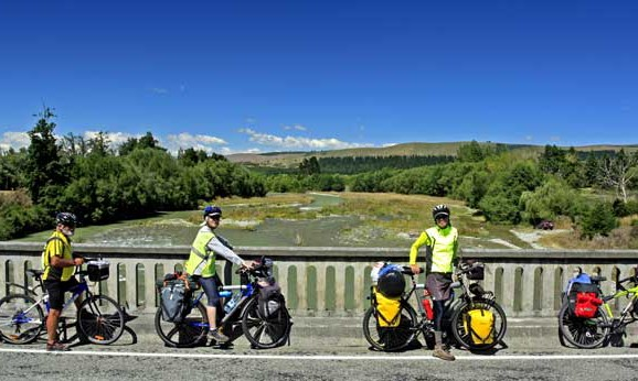 Bicycling South Island New Zealand- Geraldine to Fairlie