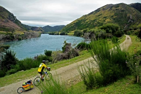 Hiking Biking Adventures-Bicycling South Island New Zealand