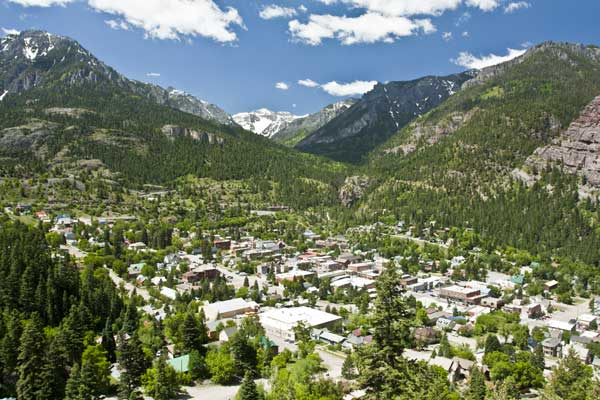 Hiking Ouray-Silverton-Lake City-Ouray Colorado