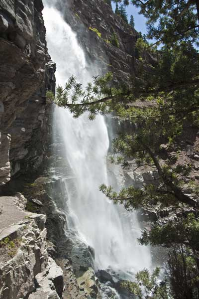 Hiking Ouray-Silverton-Lake City-Hiking Ouray-Lower Cascade Falls