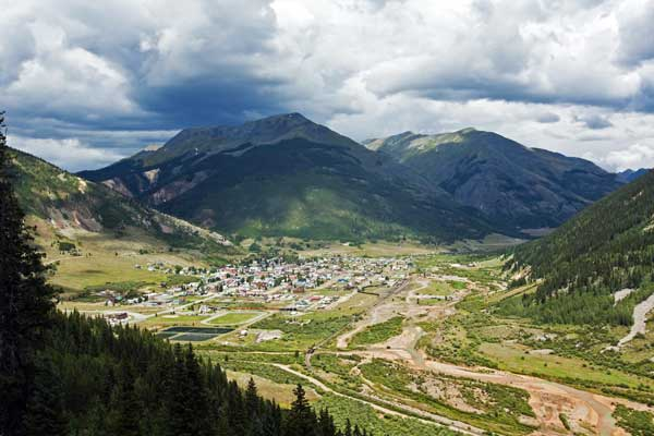 Hiking Ouray-Silverton-Lake City-Silverton Town, Silverton Colorado