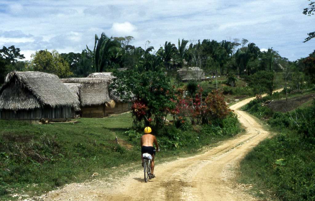 Bicycling Belize-the roads