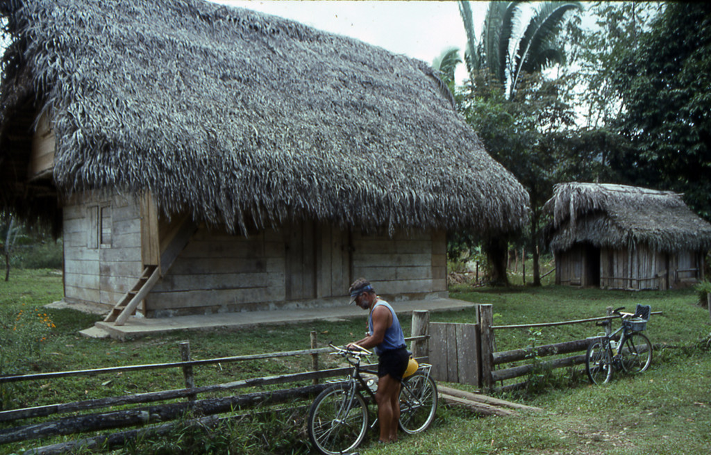 Bicycling Belize
