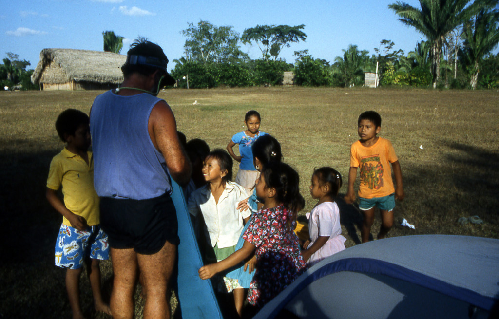 Bicycling Belize-Children
