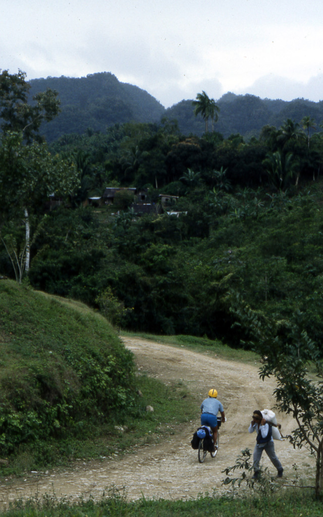 Bicycling Belize-the roads between villages