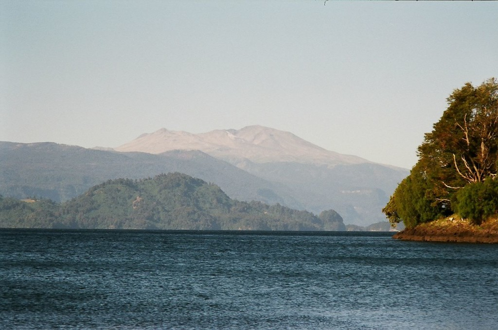 Hiking Puyehue National Park-Puyehue Volcano from Entre Lagos
