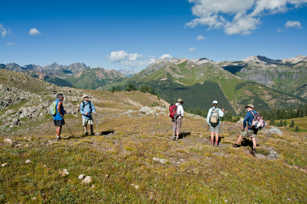 Hiking Ouray-Silverton-Lake City_San-Juan-Range-from-Nancy's-Grassy-Peak-Trail