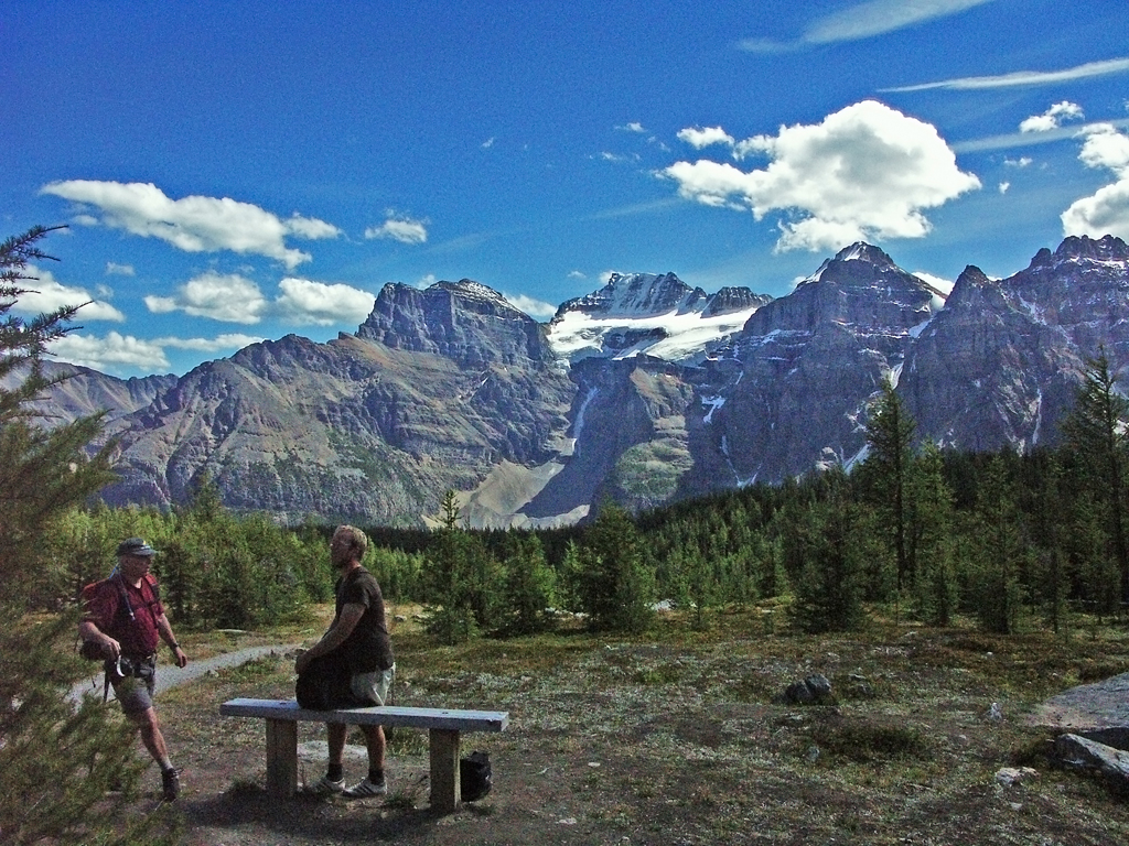 Sentinel-Pass Trail-Beginning of Larch Valley