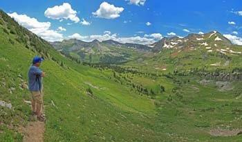 Hiking Crested Butte Colorado-Oh Be Joyful Trail